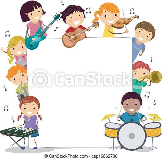 Musical Kids - csp16862700