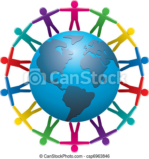 people around the world - csp6963846