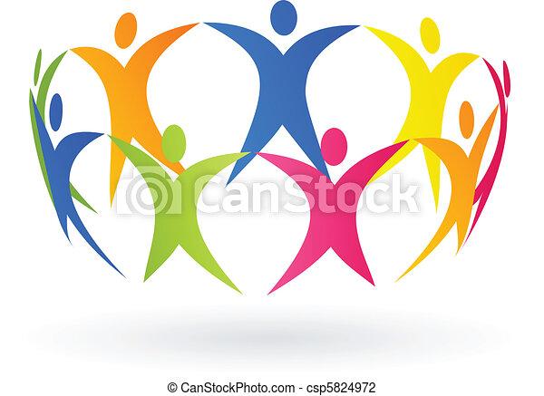 People around the world - csp5824972