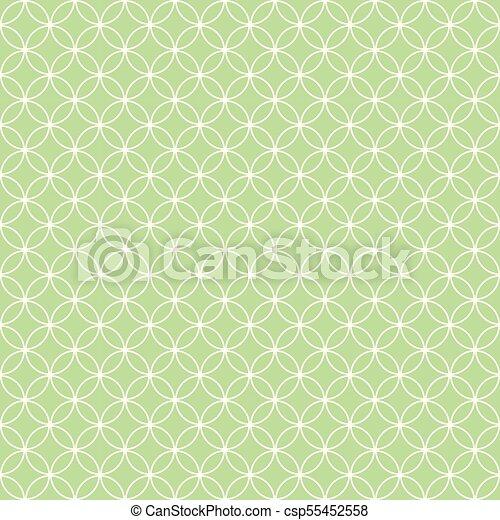 Quatrefoil geometric seamless pattern - csp55452558