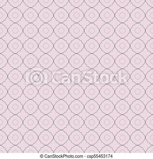 Quatrefoil geometric seamless pattern - csp55453174