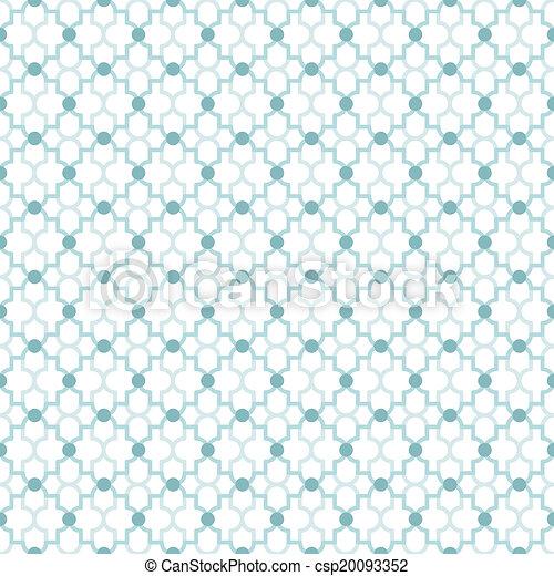 Quatrefoil Lattice Pattern - csp20093352