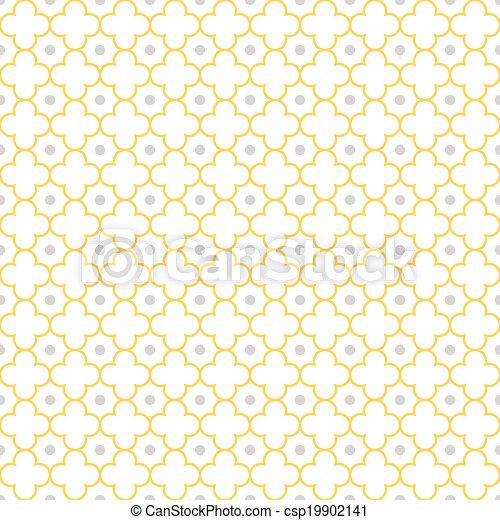 Quatrefoil Lattice Pattern - csp19902141