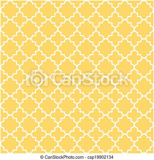 Quatrefoil Lattice Pattern - csp19902134