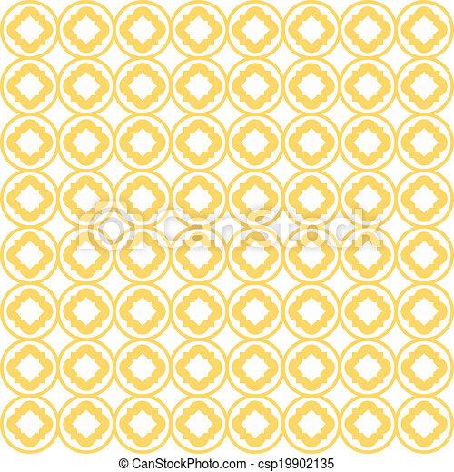 Quatrefoil Lattice Pattern - csp19902135