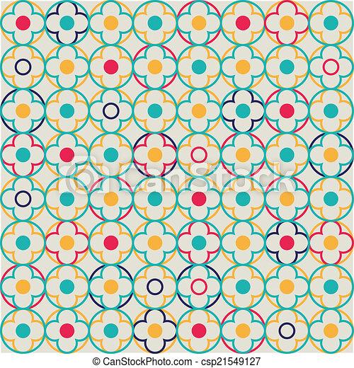 Quatrefoil Lattice Pattern - csp21549127