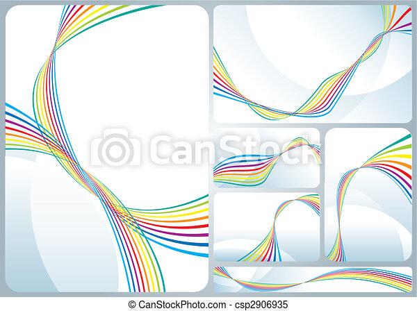 Rainbow Flowing - csp2906935