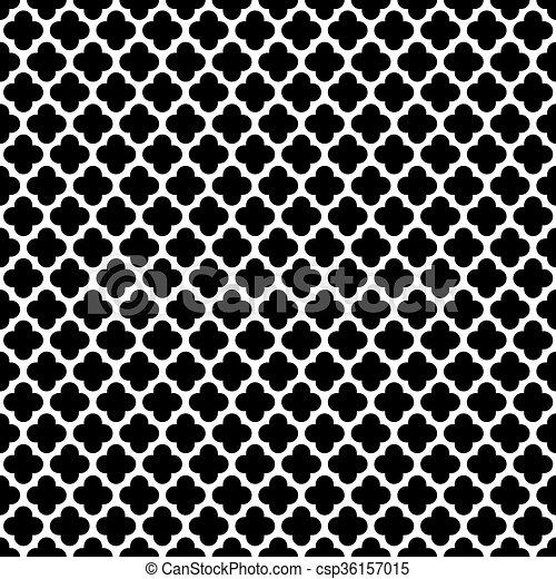 Seamless Vintage Trellis Pattern - csp36157015