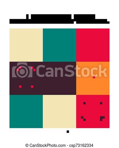 Set of Seamless moroccan pattern. - csp73162334
