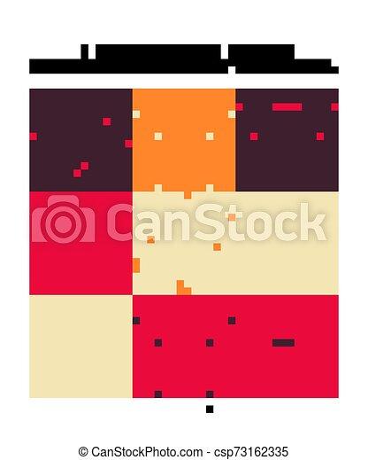 Set of Seamless moroccan pattern. - csp73162335
