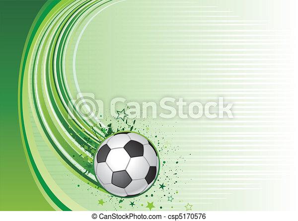 soccer background - csp5170576