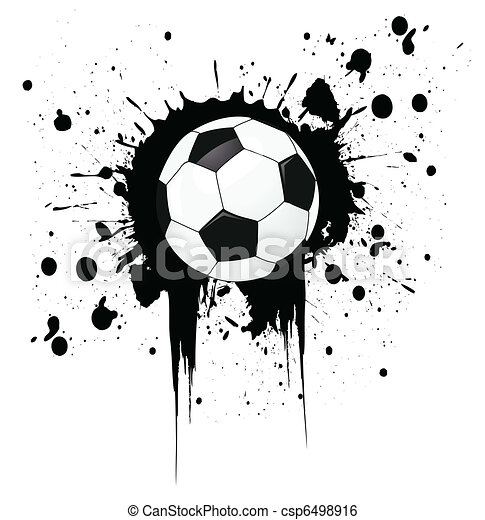 soccer ball - csp6498916