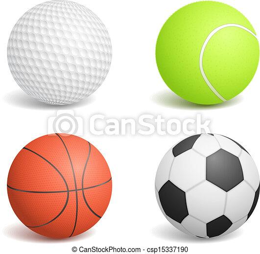 Sport Balls - csp15337190