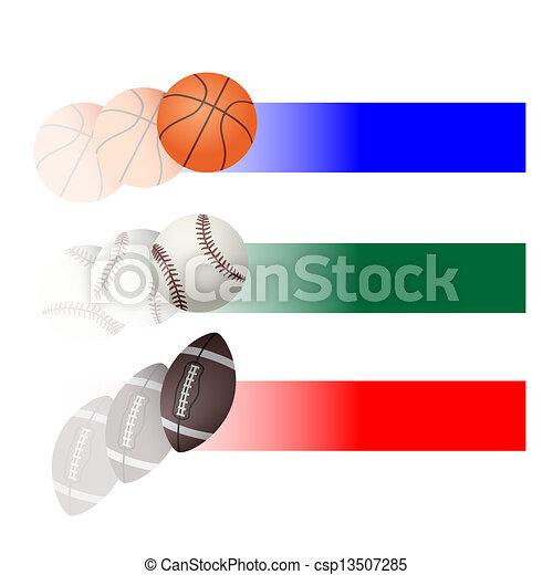 Sport balls - csp13507285