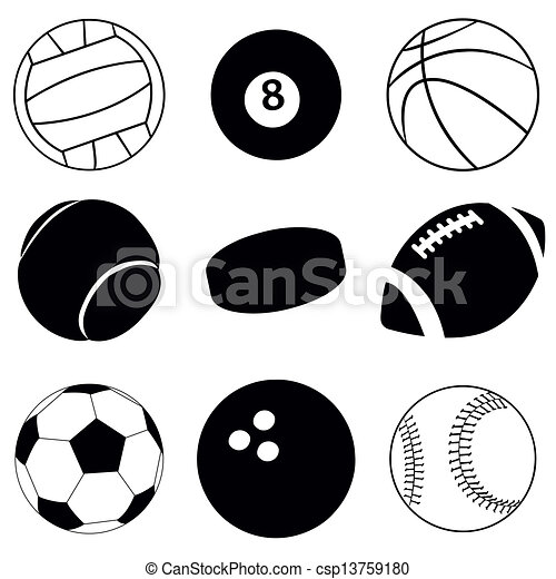 sport balls - csp13759180