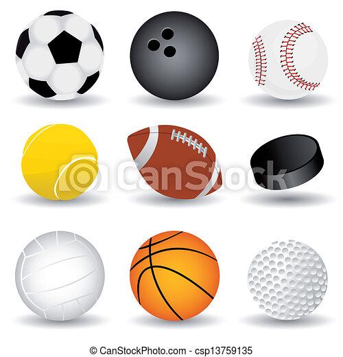 sport balls - csp13759135