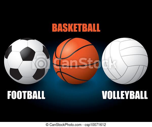 Sport balls - csp10071612