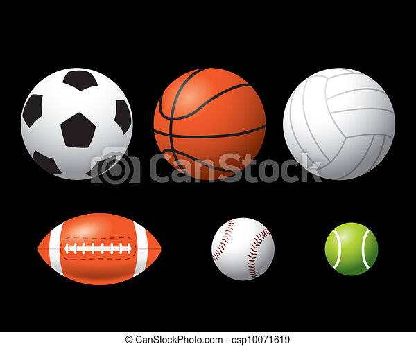 Sport balls - csp10071619