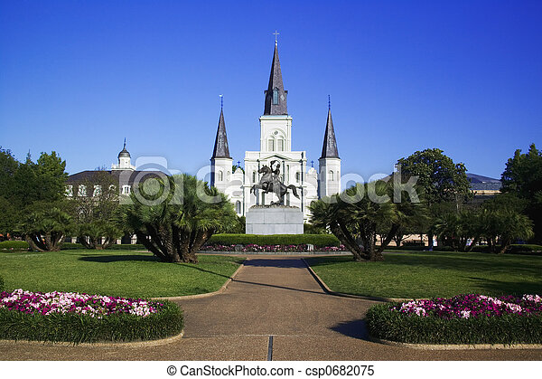 St. Louis Cathedral - csp0682075