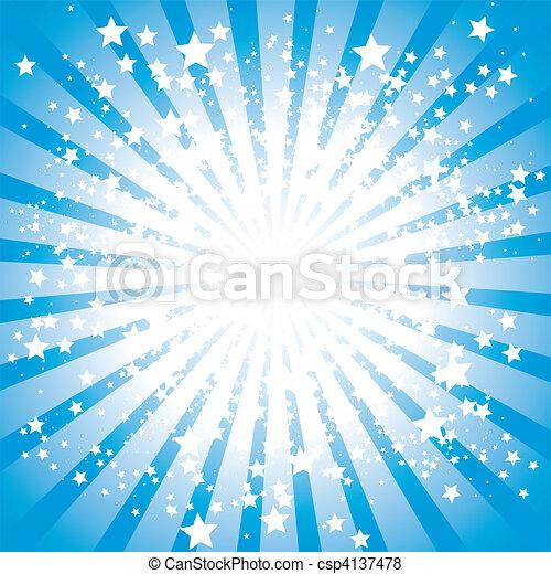 Stars burst - csp4137478