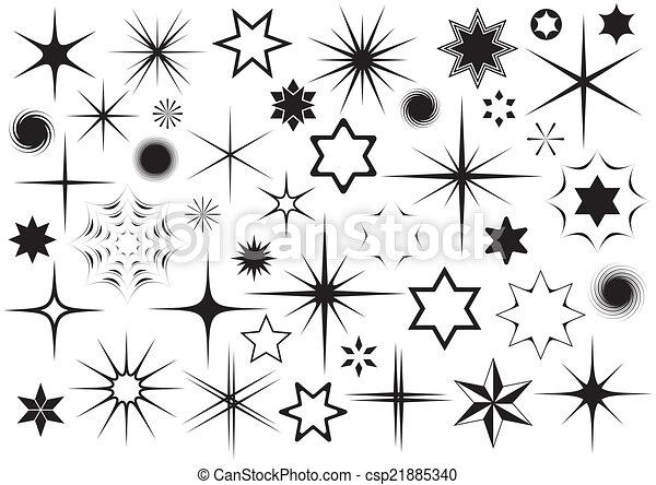 Stars - csp21885340