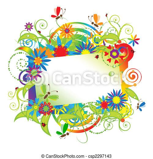 Summer dreams, greeting card - csp2297143