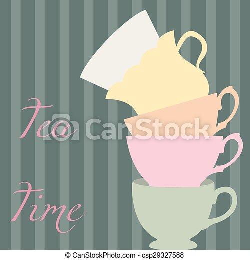 Tea time - csp29327588