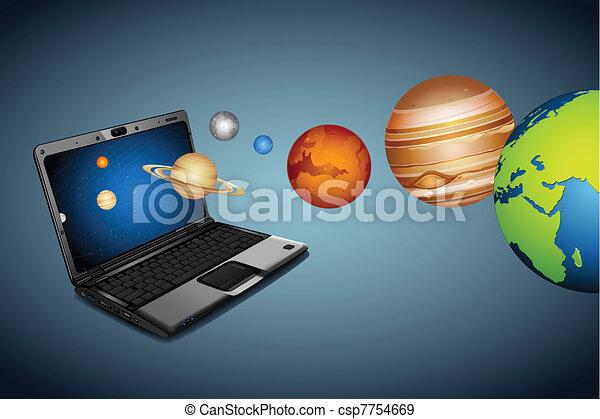 Technical Universe - csp7754669