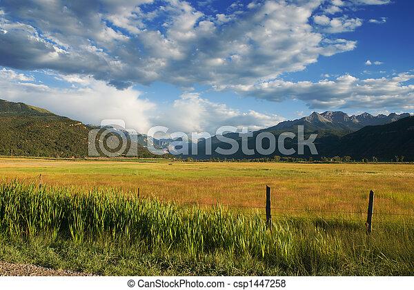 Uncompahgre Valley - csp1447258