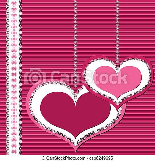 valentine card - csp8249695