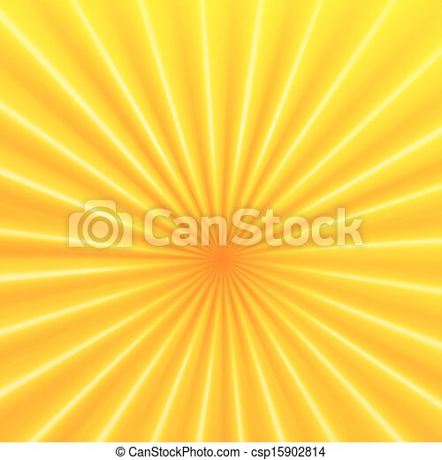 Vector abstract background with rays - csp15902814