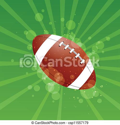 Vector Football Background - csp11557179