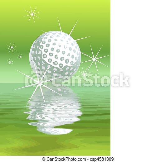Vector golf Background - csp4581309