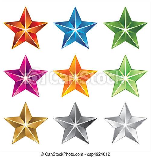 vector star icon - csp4924012