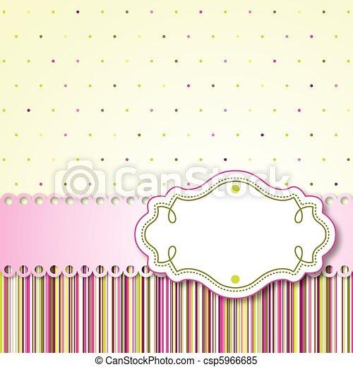 Vintage card - csp5966685