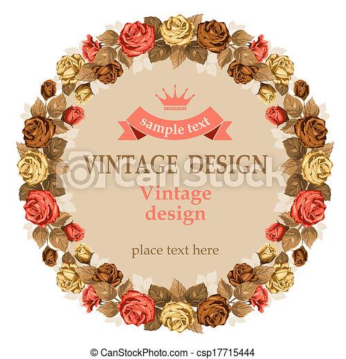 Vintage design - csp17715444