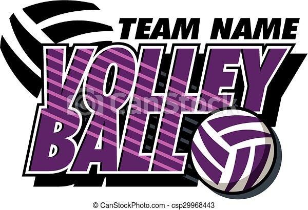 volleyball design - csp29968443